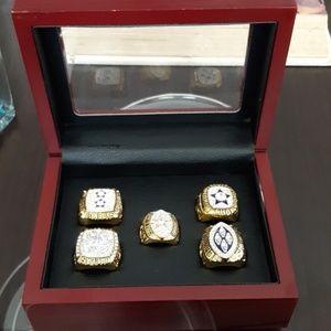 Dallas Cowboys championship 5 rings